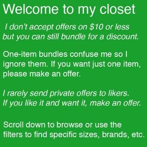 Other - Bundles & offers welcome